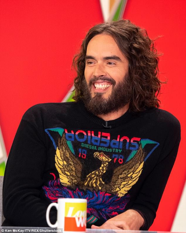 Hottest Royal Wedding gossip? Russell Brand boasted about KISSING royal bride-to-be Meghan Markle in 2010 movie Get Him To The Greek