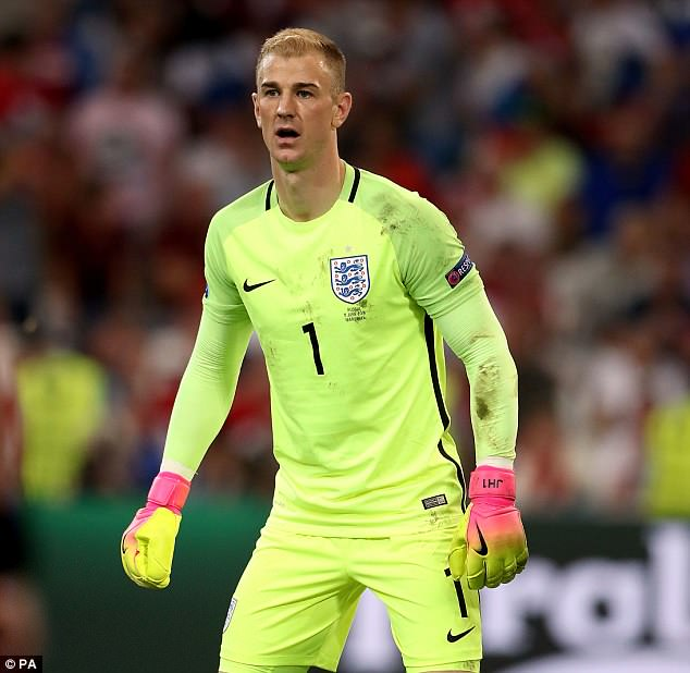Hart, who has won 75 caps for his country, was not included as one of three goalkeepers