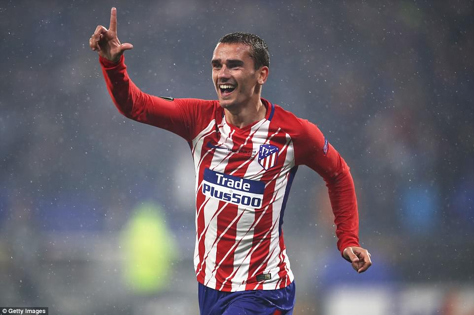 Griezmann was the inspiration for Atletico Madrid as he scored either side of half-time to seal a famous Europa League win