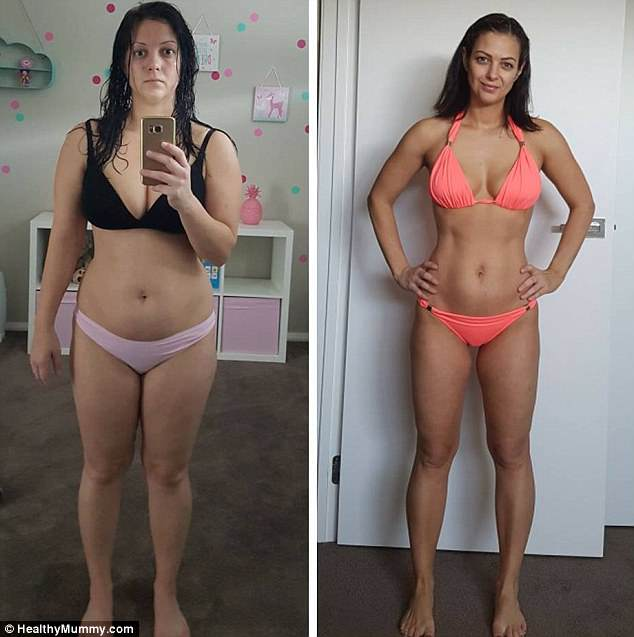 Now, she tries to do three HIIT workouts per week to tone her body and is a regular runner
