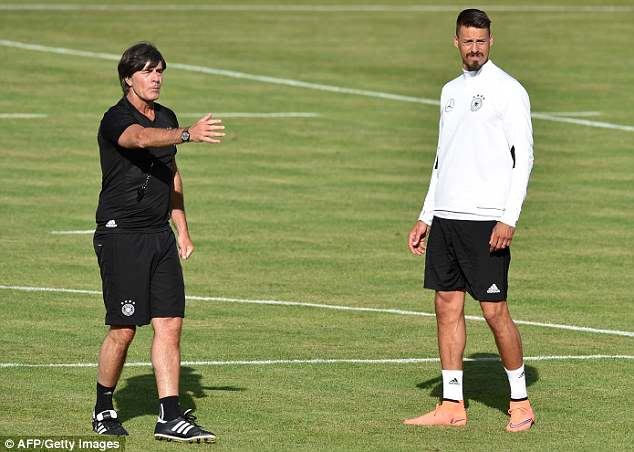 Wagner was critical of Germany's World Cup winning manager Joachim Low (left)