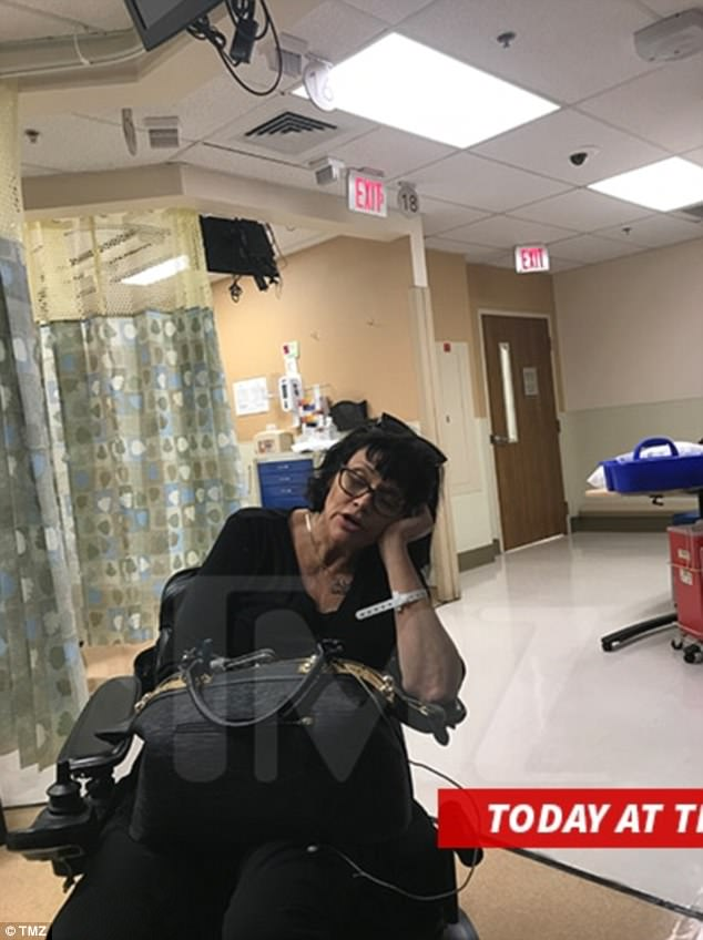 Fractured claims: Samantha Markle told TMZ that she had a 'paparazzi confrontation'. She released a picture from an unnamed hospital and her partner claimed she had a broken ankle and possible fracture knee. But law enforcement can find no evidence of the crash she described