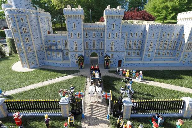 Astounding: Legoland Windsor created a replica of the royal wedding that took nearly 600 hours to make