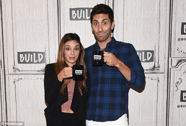 However, Schulman has denied the claims, saying that he's 'always been transparent about my life and would always take responsibility for my actions — but these claims are false'. Schulman is married to Laura Perlongo (pictured together)