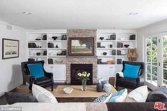 The Glee alum has done renovations to it and opted for light and bright interiors with white walls and cabinetry and wood flooring