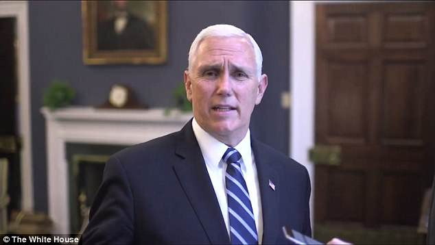 Vice President Mike Pence even made an appearance in the clip, simply asking 'Who's Yanny?'