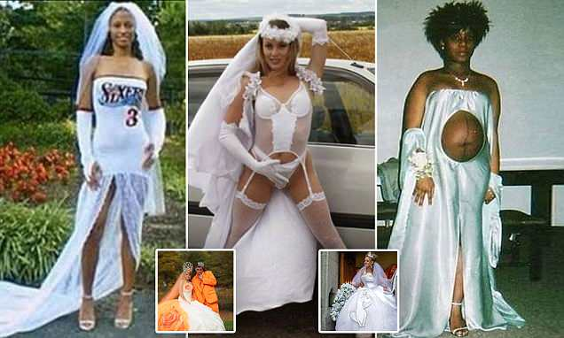 Brides Don Meringue Dresses In Worst Wedding Gowns Ever