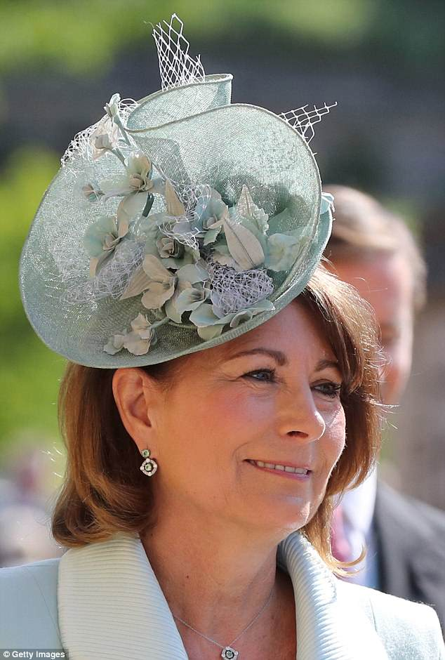 Carole Middleton Wears Catherine Walker For The Royal