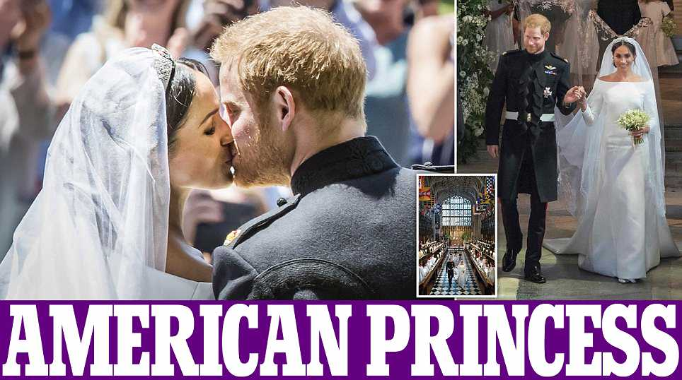 Royal wedding: Harry and Meghan exchange rings as they marry at St George's Chapel