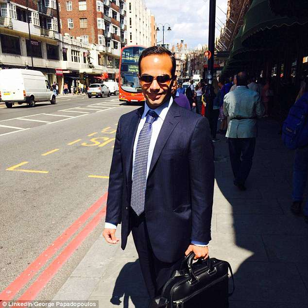Papadopoulos sat down in London for dinner with Halper and was asked what he knew about Russians hacking Hillary Clinton's emails – a question that now appears part of a spy plot