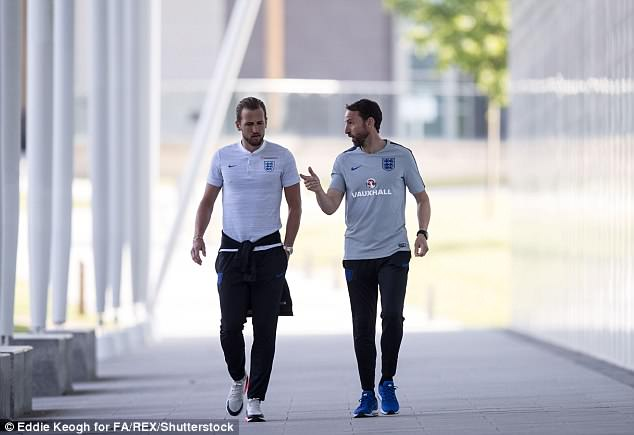 The pair will have a close relationship in Russia as Kane captains Southgate's England team