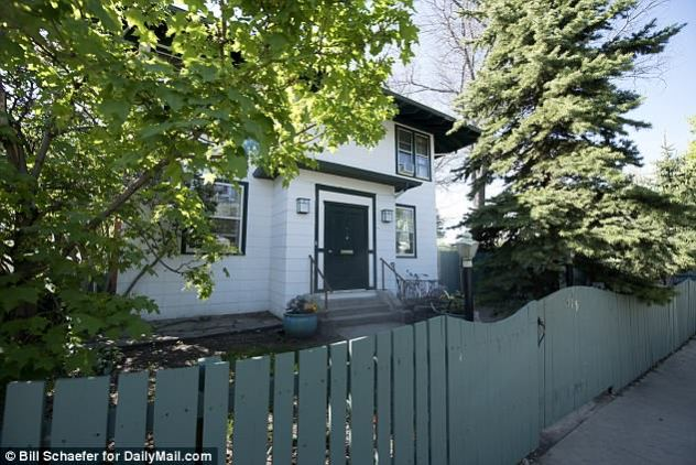 This was Kidder's four-bedroom home in Livingston, Montana. Friends say the basement was being used as a meth lab by local drug addicts - who the actress had tried to help