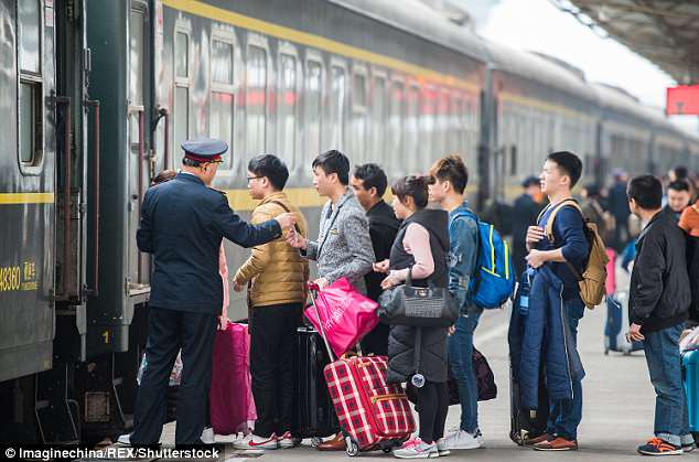 In China, over four million people were banned from using high-speed trains (photo photo)