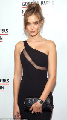 Josephine Skriver dons LBD in New York