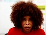 Berlinah Wallace wascleared of murder in a landmark trial after her ex-boyfriend died by euthanasia after she doused him in acid