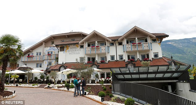 This is where the reigning World Cup champions will be staying during their training camp