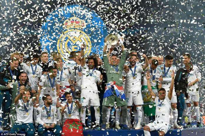 Madrid won their 13th European Cup title thanks to a double from Gareth Bale and an opener from Karim Benzema