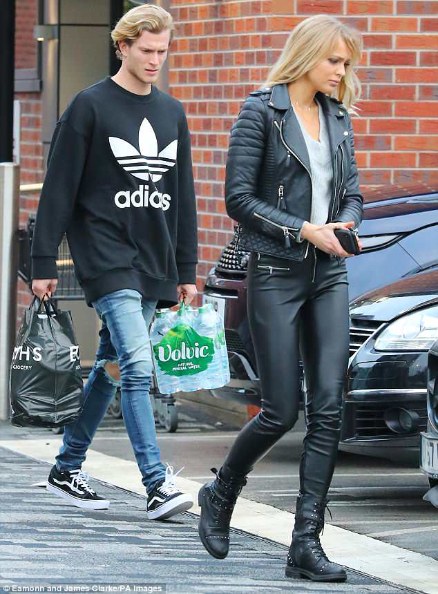 They were first spotted together in Cheshire after he returned from Liverpool's warm weather training camp in Marbella