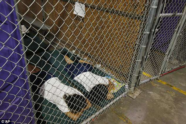 The internet has been in uproar over shocking - yer historic - images of immigrant children forced to sleep on the floor in metal 'cages' by ICE.