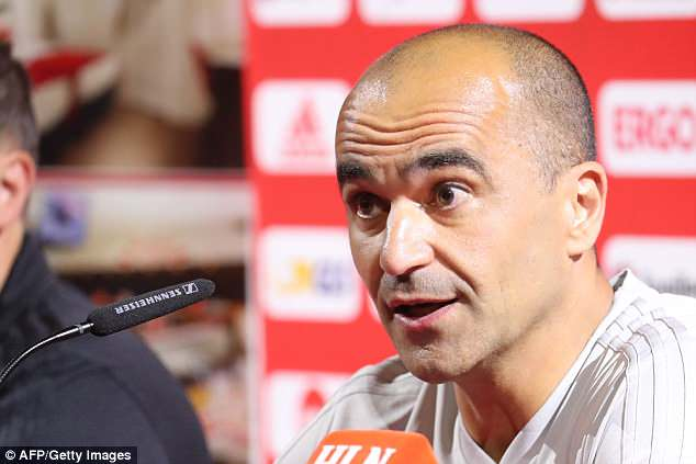 Martinez and his Belgium squad begin their World Cup campaign against Panama on June 18