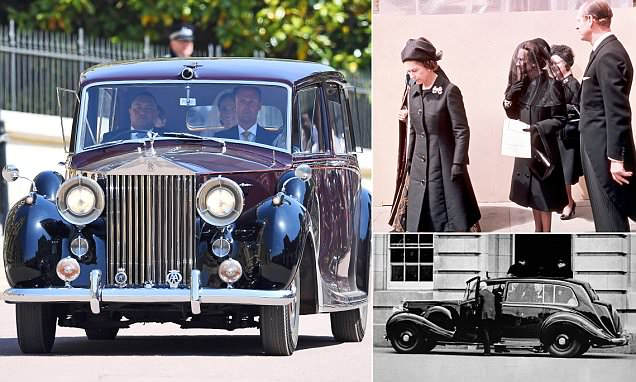 Meghan was driven in same model of Rolls-Royce used for Wallis Simpson