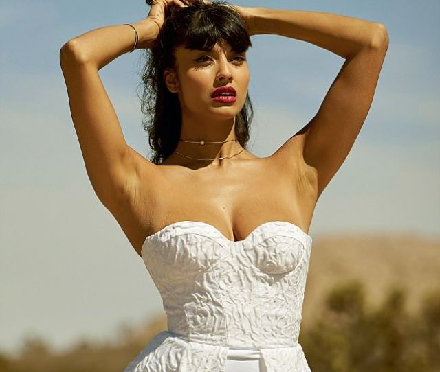 Jameela Jamil Celebrates Her Curves In Un Retouched Photo Shoot