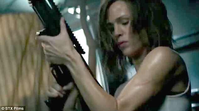Dropped:The trailer for Jennifer Garner's thriller Peppermint dropped on Thursday