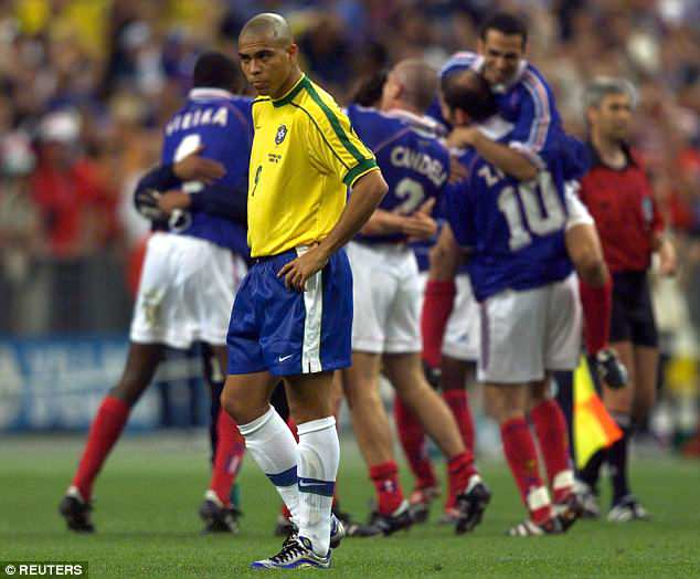 It was revealed that Ronaldo suffered a 'convulsion' before Brazil's 3-0 final defeat by France