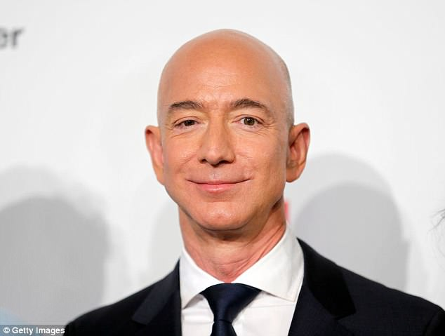 Be Bezos: Sales at Amazon are now seven times those of its eight closet competitors - Walmart, Target, Best Buy, Nordstrom, Home Depot, Macy's, Kohl's and Costco (Bezos above in April)
