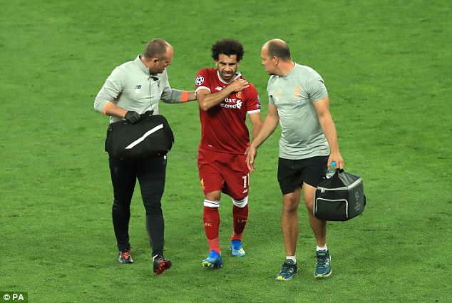 Egypt are 'optimistic' that Mohamed Salah will be fit and ready for the World Cup in Russia