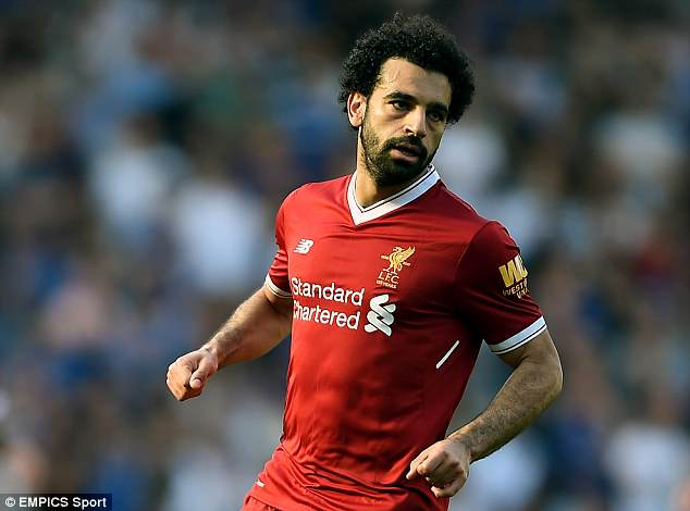 Egyptian Salah is continuing his recovery from injury following the Champions League final