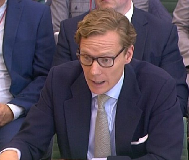 Cambridge Analytica Former Ceo Alexander Nix Revealed After Facebook Scandal Questioning Daily Mail Online