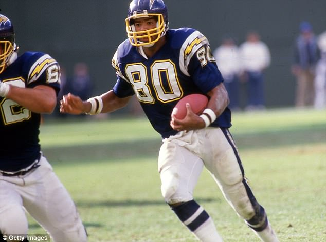 Winslow's father was a star for the San Diego Chargers' 'Air Coryell' offense