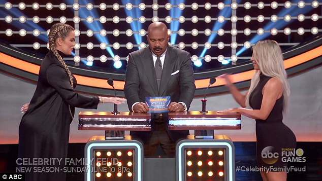 Face off! The upcoming episode of Celebrity Family Feud features Kim, Khloe, Kris Jenner, Kendall Jenner, Kanye West, and will air on June 10