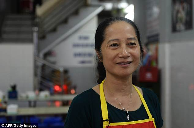 Bun Cha Huong Lien's owner, Nguyen Thi Lien (in 2016), said Saturday she was 'surprised and sad' when she heard that Bourdain had committed suicide on Friday