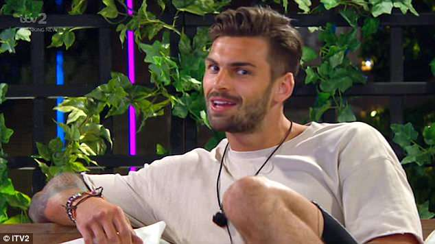 Not a fan:The former Love Island star, 21, admitted she initially found the personal trainer 'beautiful', but insisted he's 'playing this awful game'