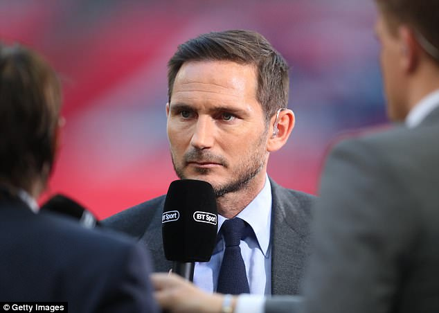 Frank Lampard is the pick of the BBC pundits and is very much at ease in front of a camera