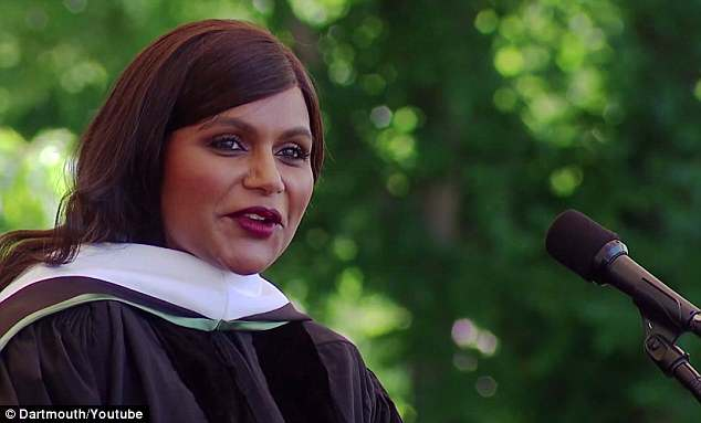 She graduated from the Ivy League in 2001 with a degree in playwriting and went on to write and star in her own comedy show The Mindy Project