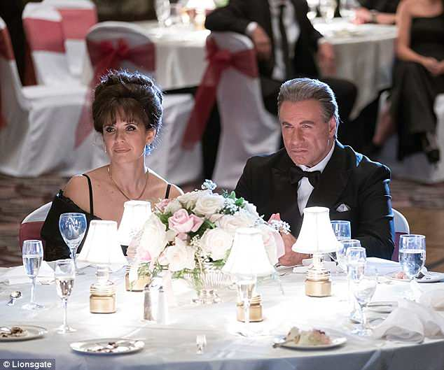 Natural casting: The real-life husband and wife play Victoria and John Gotti in the new film