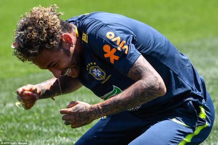 It was welcome respite for the Brazilian stars as they prepare for the global showpiece, which starts on Thursday