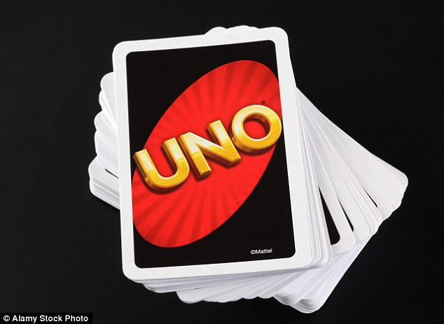 Some of the players could pass the time by playing Uno during the World Cup