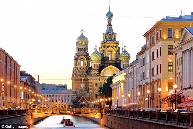 Saint Petersburg, just 20 miles from the England base, is a stunning and historic city
