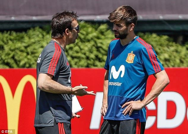 Lopetegui has to give Spain legends such as Gerard Pique the final World Cup they deserve