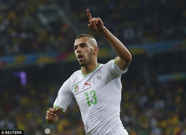Striker Islam Slimani dumped Russia out in Brazil and the exit caused a parliamentary enquiry