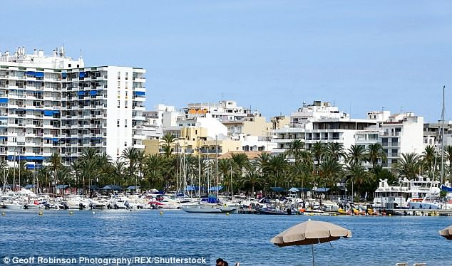 A third footballer has been held over an alleged sex attack on a teenage British holidaymaker at a hotel in Ibiza (file picture)