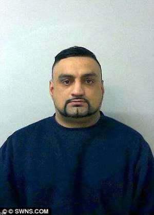 Kamran Khan, 36, got eight years for false imprisonment and indecent assault