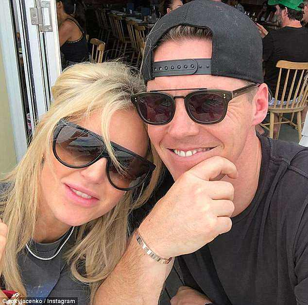 Serving time: At the time of Roxy's infidelity , Oliver was serving a two-year sentence at Cooma Correctional Centre for conspiracy to commit insider trading and was released in June last year