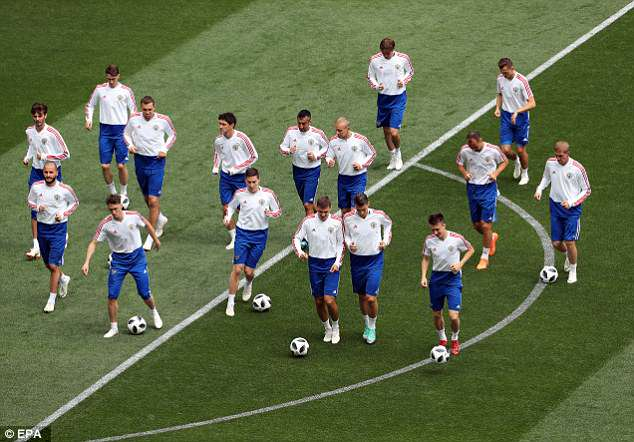 Russia will be hoping to go full steam ahead on Thursday when they face Saudi Arabia