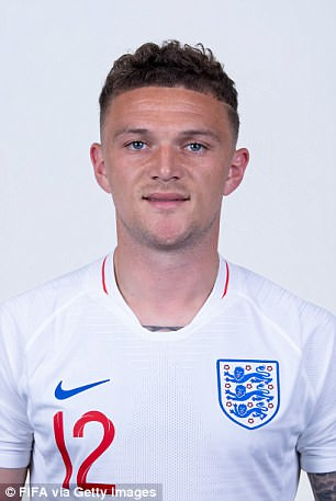 And this is to accommodate Kieran Trippier in the side at right back