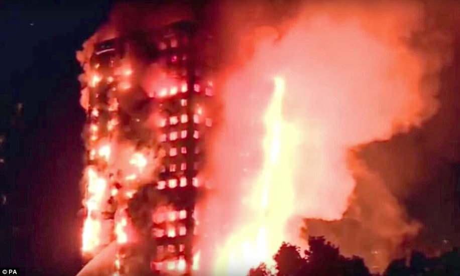 Design of tower blocks is supposed to 'compartmentalise' fires into individual flats – but this was not effective at Grenfell